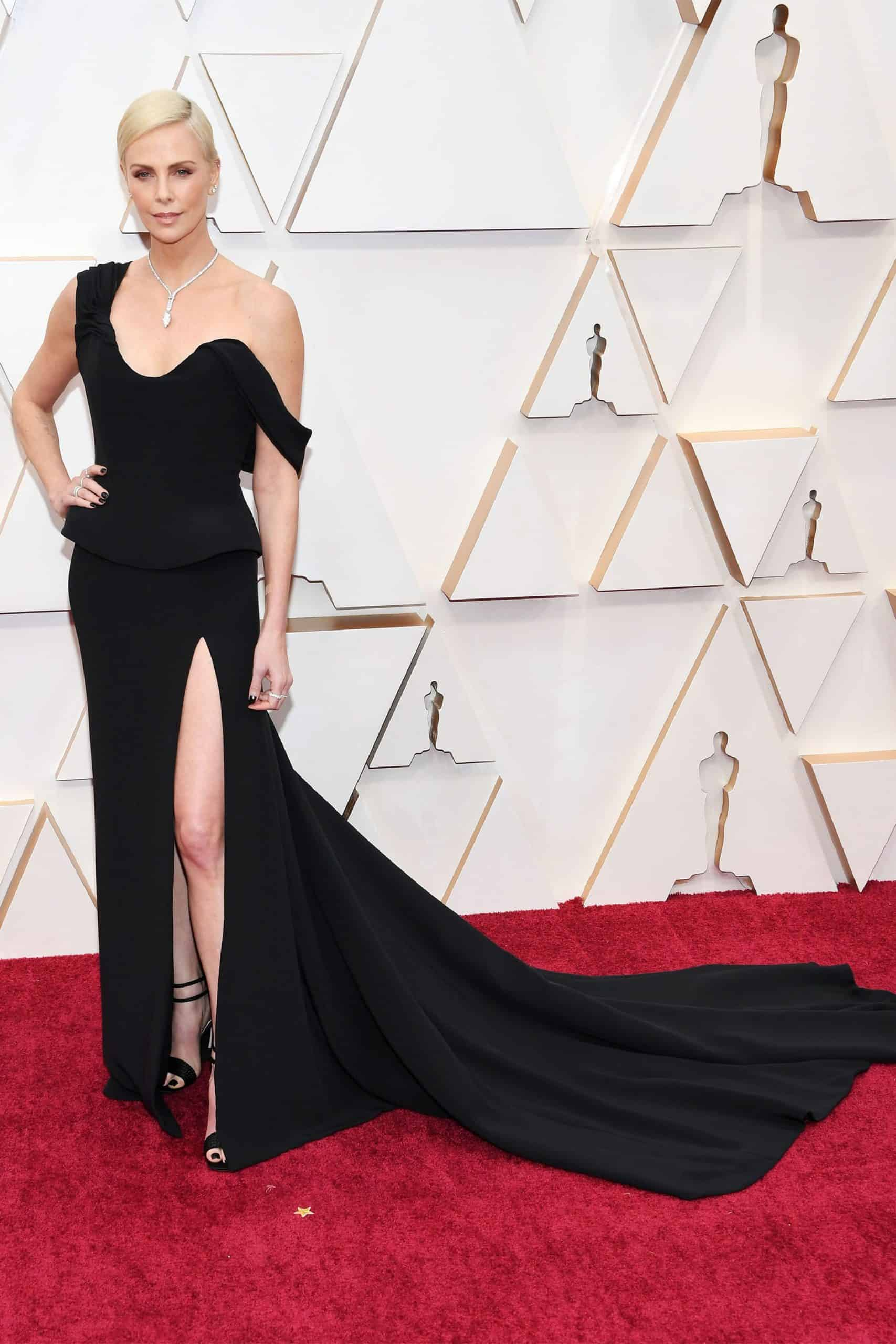 Charlize Theron On Dior Haute Couture and Tiffany & Co. jewelry