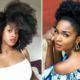natural hair afro styles