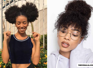 natural hair bun styles - how to do natural hair bun thrivenaija