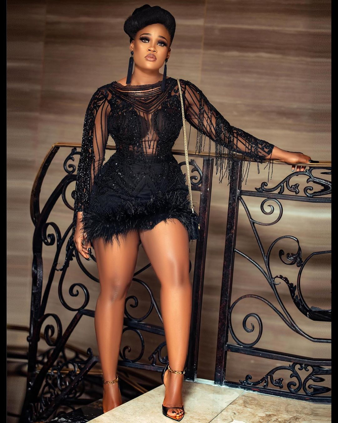 Cynthia Nwadiora Fashionable Look Gets Jaw Dropping