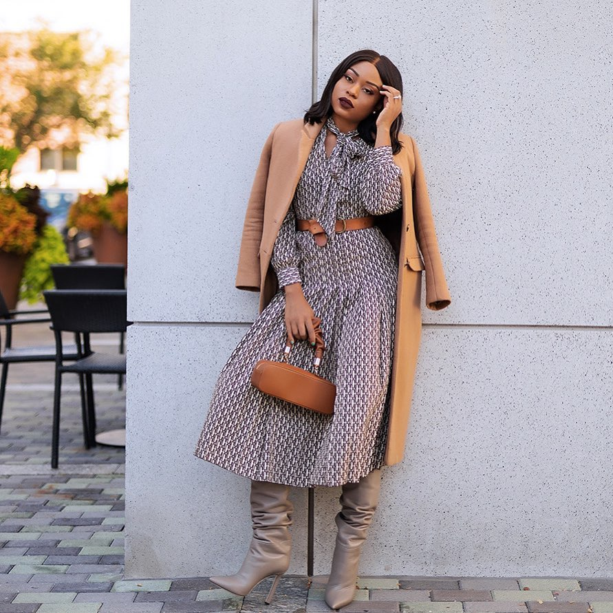 Stella Adewunmi Outfit Is Just The Right Boss Look For A Formal Event