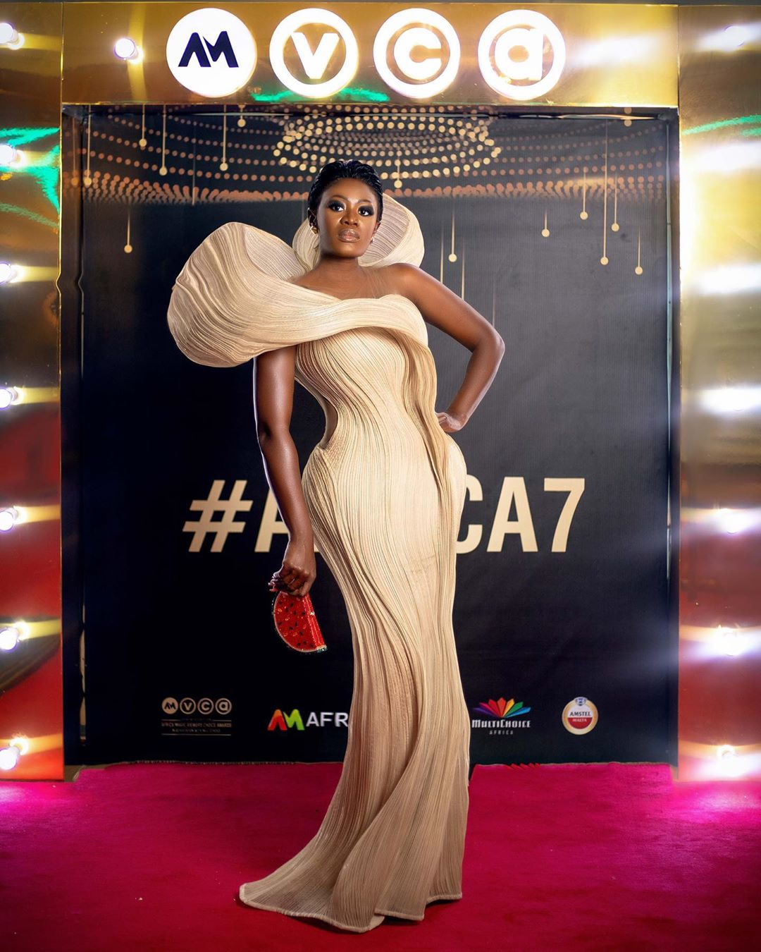 Best dressed celebrity at the AMVCA Award