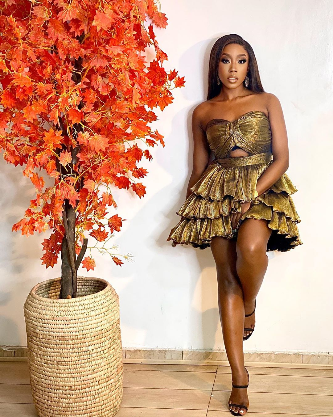 Beverly Naya Elegant Gown Is Setting A New Trend