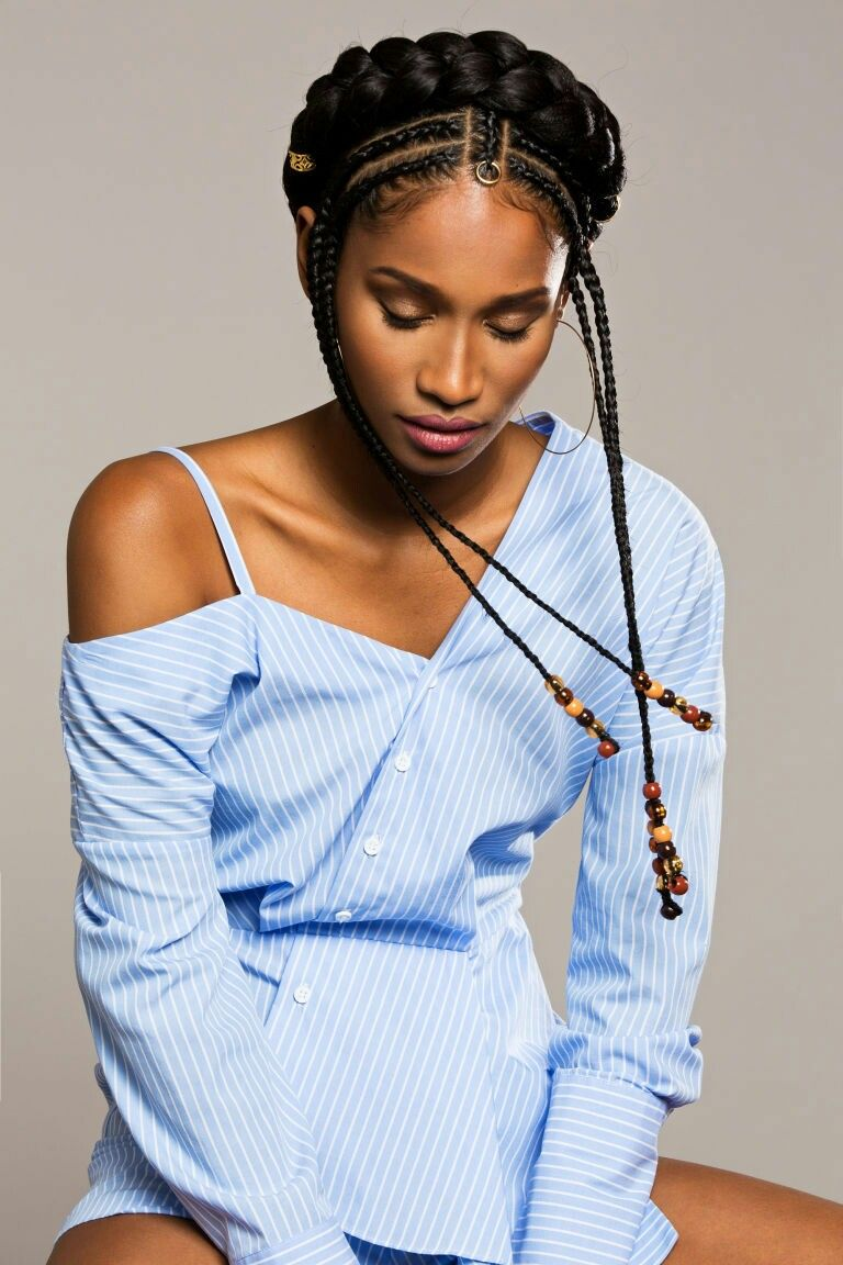 Latest fulani braid hairstyle