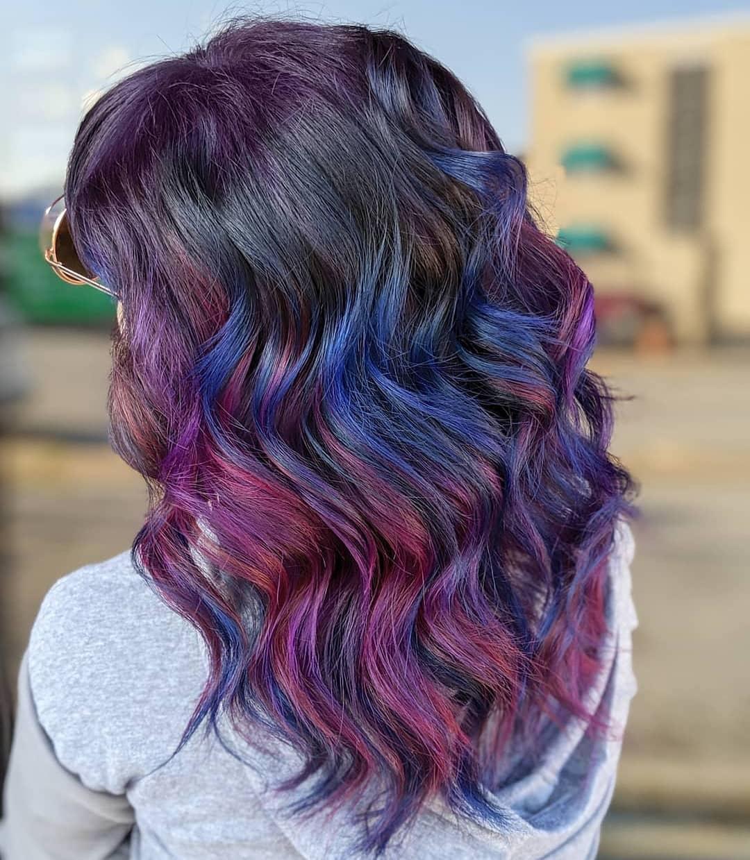 Oil Slick hairstyles ideas