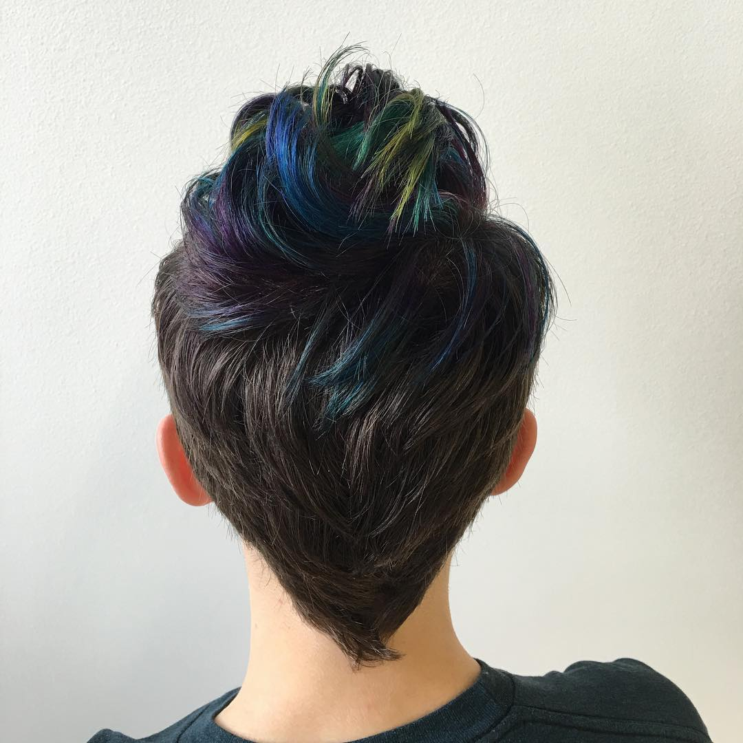 Oil Slick hairstyles ideas