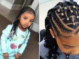 hairstyle braids for children