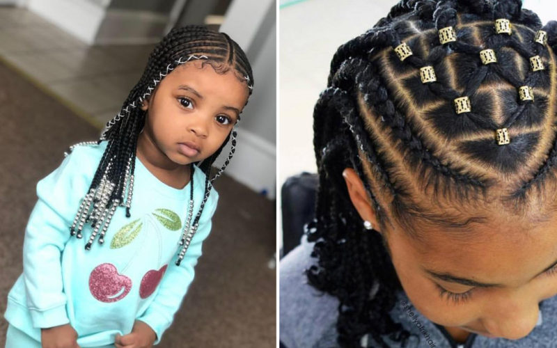 hairstyle braids for children