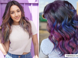 oil slick hairstyle ideas