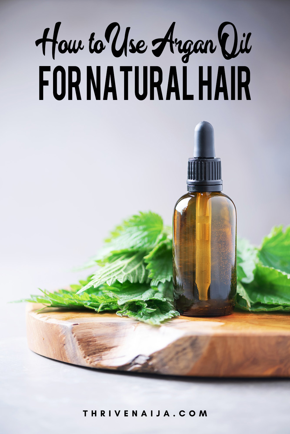 how to use argan oil for natural hair