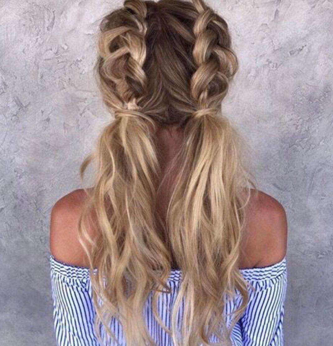 Beautiful french braid