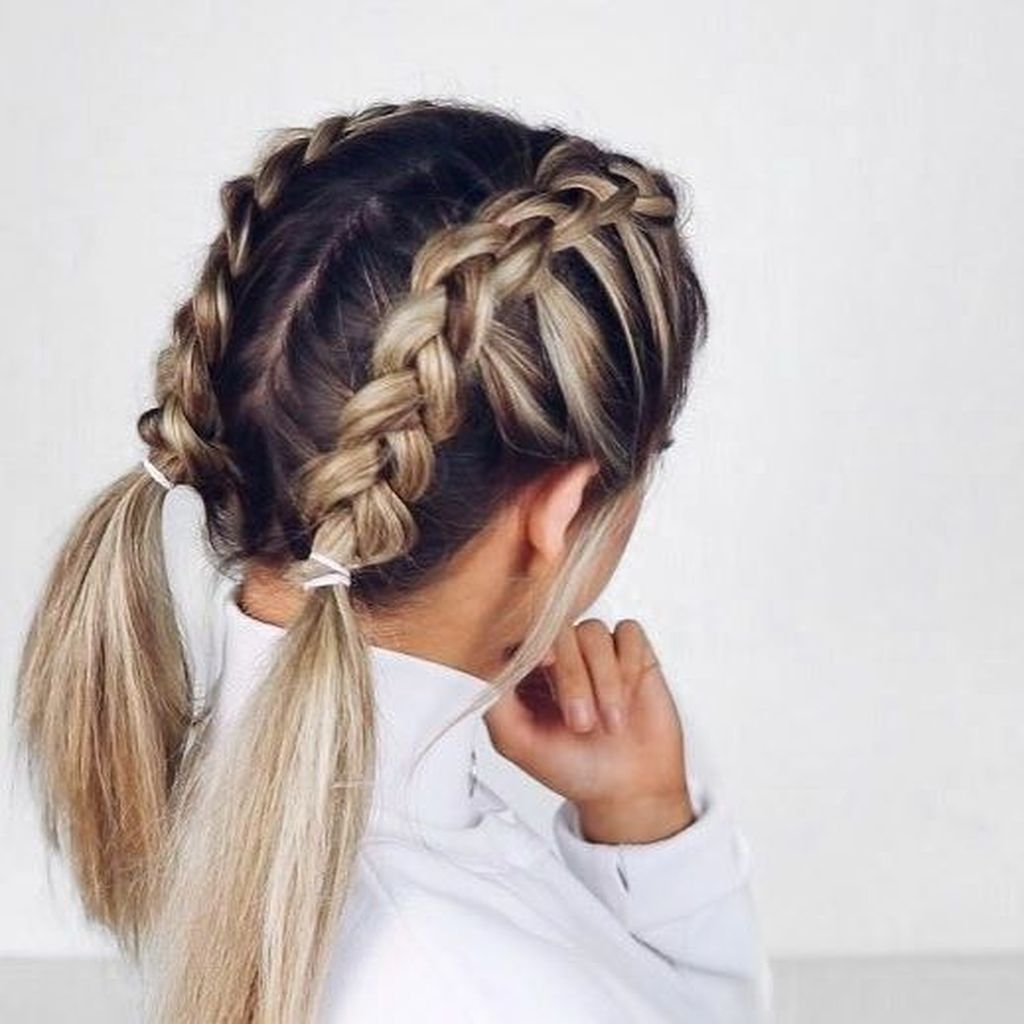 French braid hairstyle ideas for 2020
