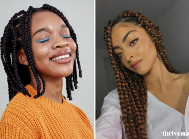 jumbo box braid style ideas