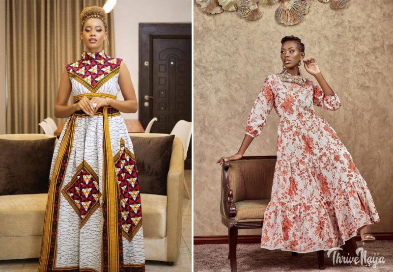 Updated latest long ankara gown styles thrivenaija