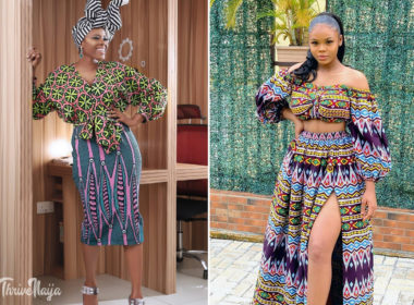 ankara skirt and blouse styles