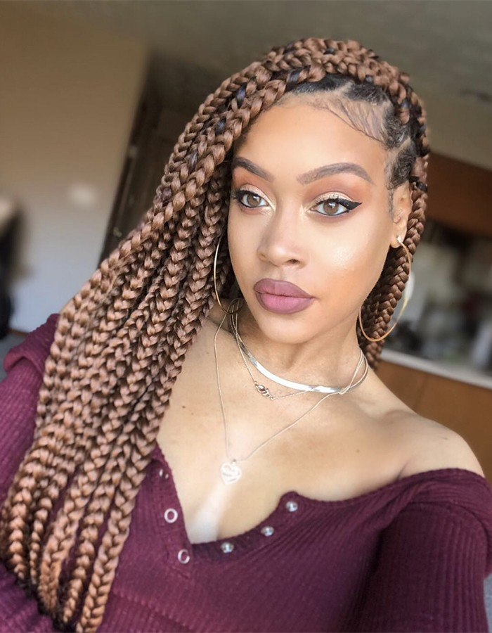 Trendy Box Braid Ideas