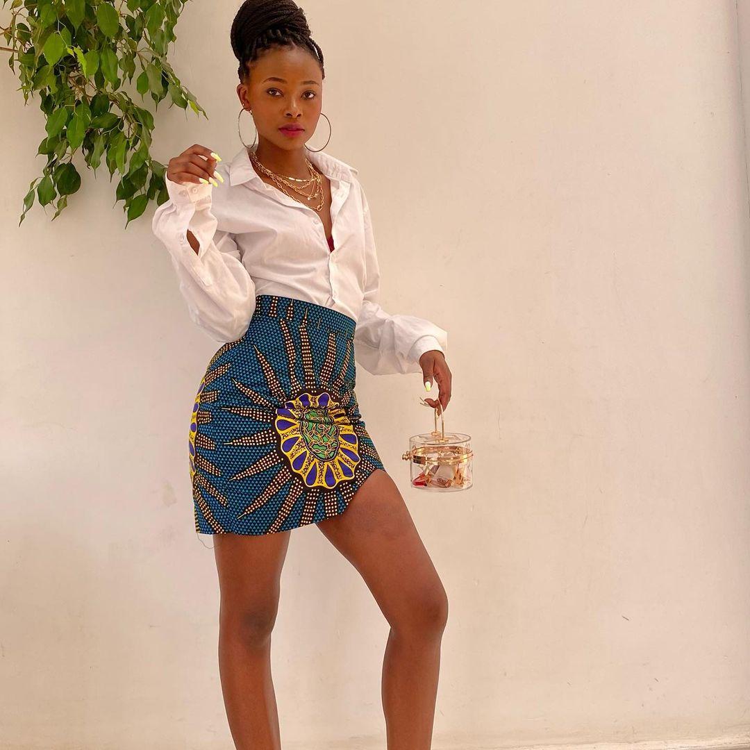 Micro Ankara Skirt