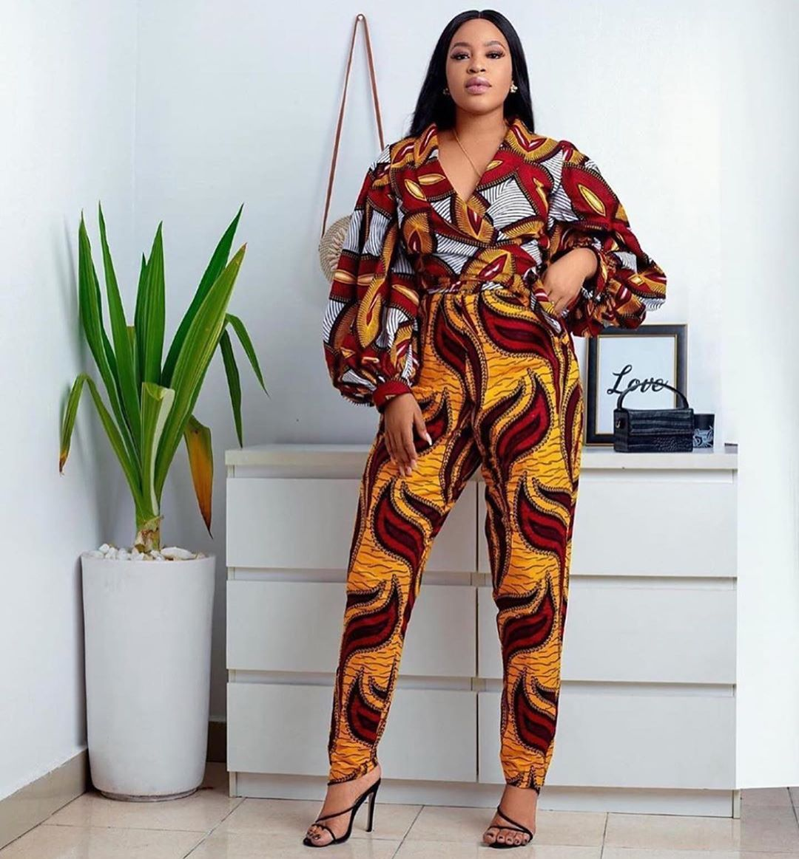 Fashionable Ankara Jumpsuit