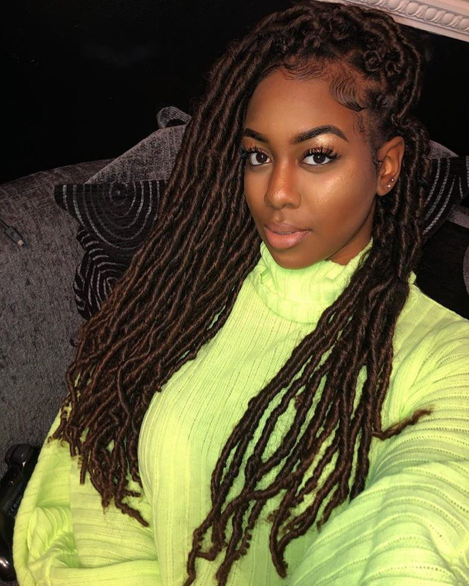 Natural Goddess Crochet Braid