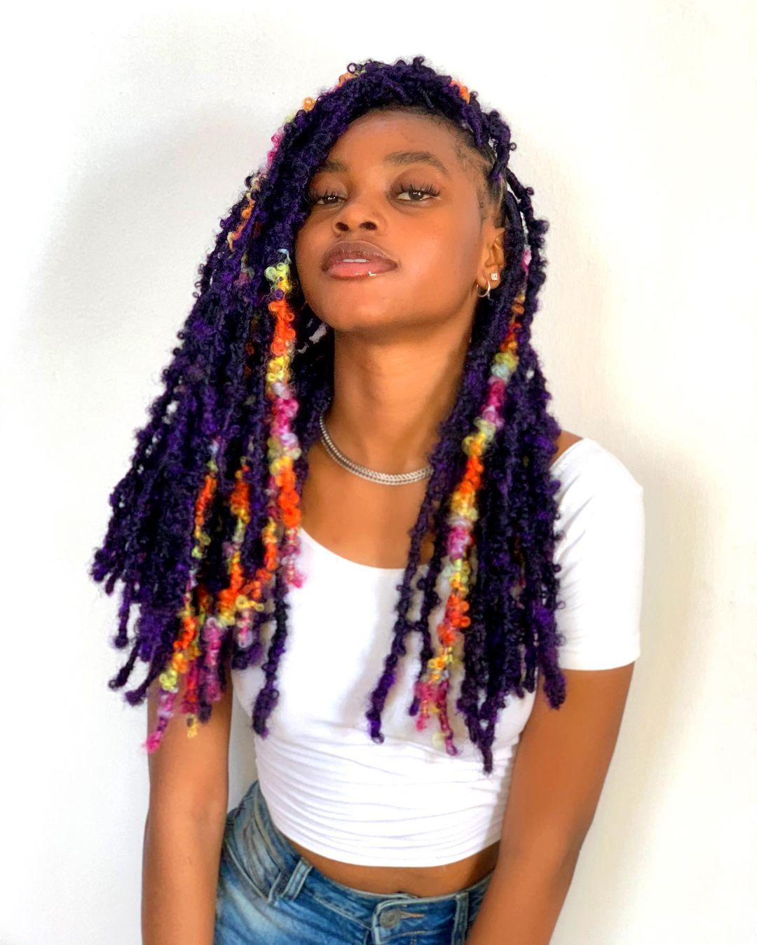 Color Creativity Crochet Braid