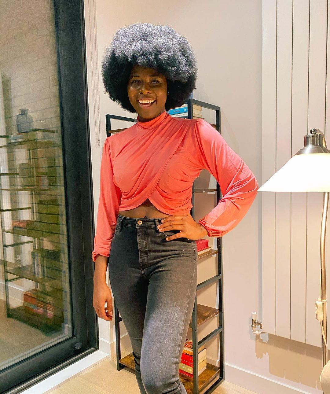 Full Balanced Afro Style