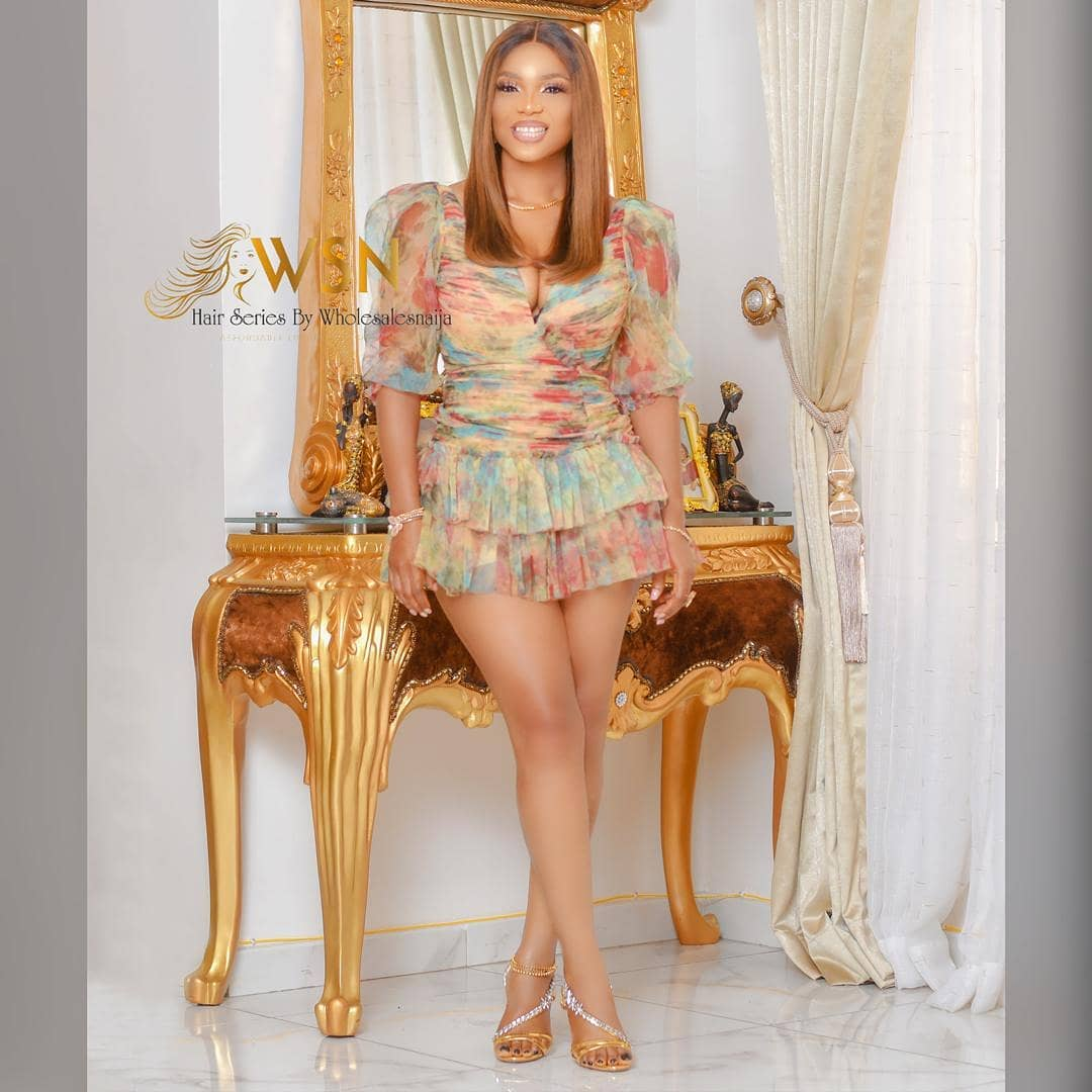 Iyabo Ojo Steps Out In A Chic Dress