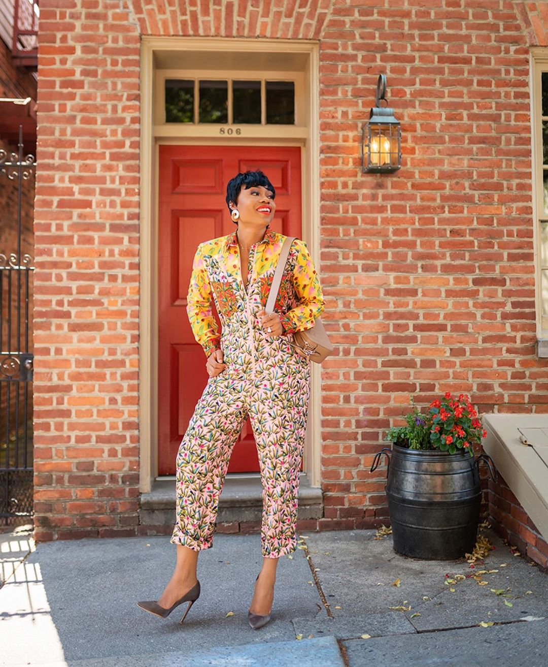 Stella Adewunmi Jumsuit Style Is Worth A Second Look