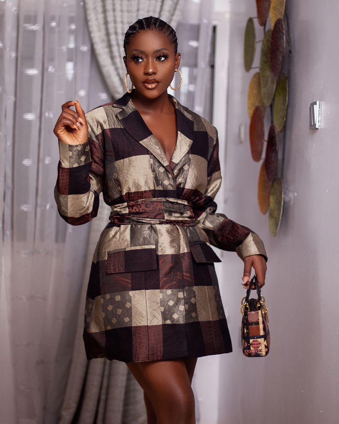Linda Osifo Keep It Stylish With A Blazer Dress