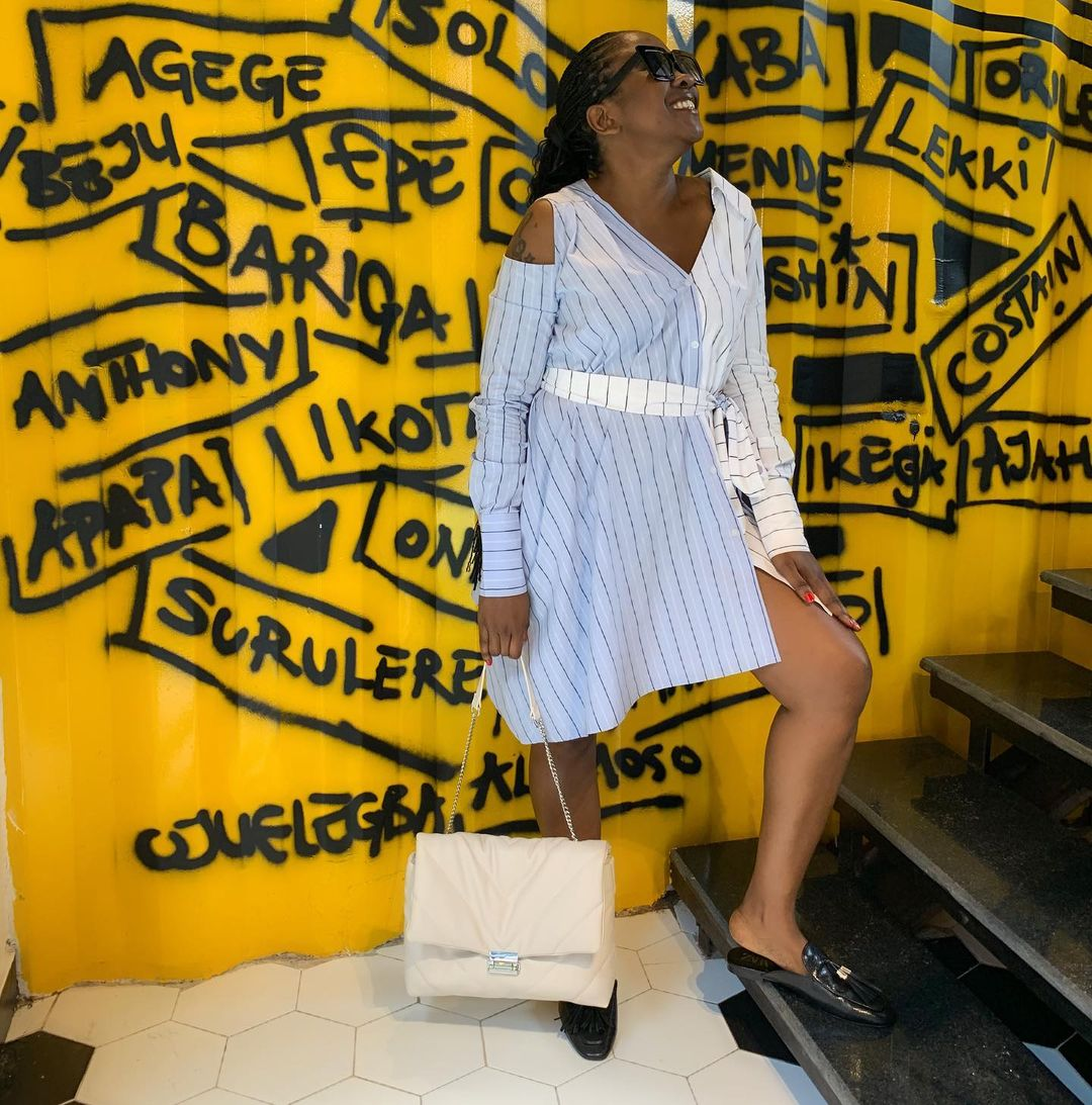 Stella Micheal Effortless Style Wraps The Weekend Up