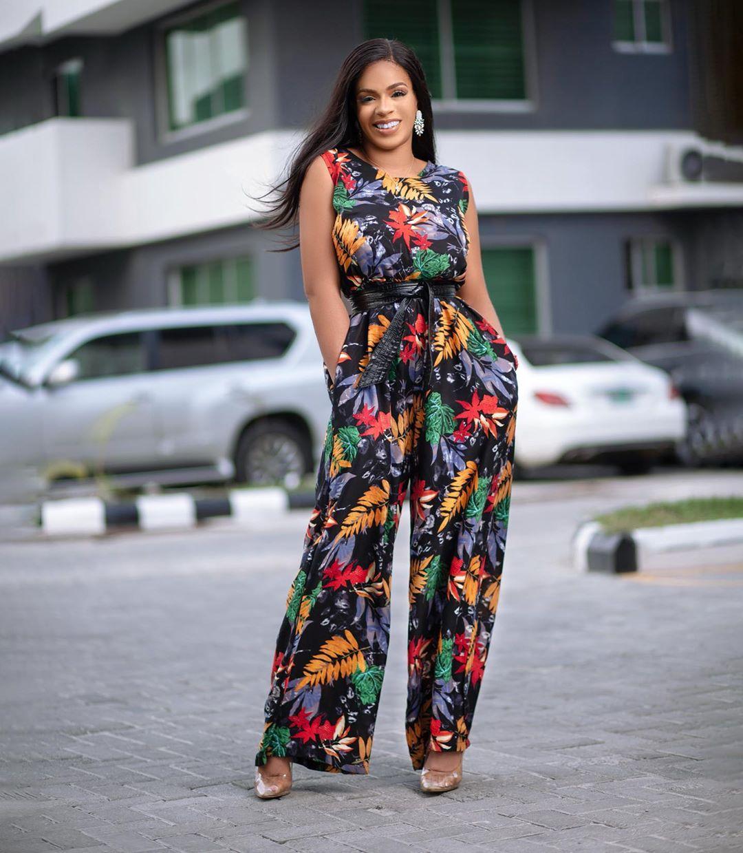Venita Akpofure Ankara Jumpsuit Style Is Fashionable