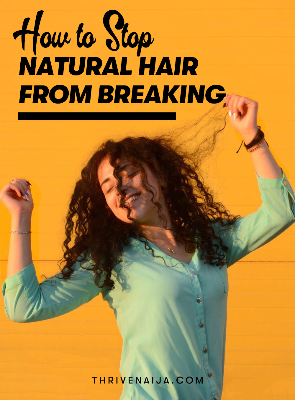 How to Stop Natural Hair From Breaking And Shedding