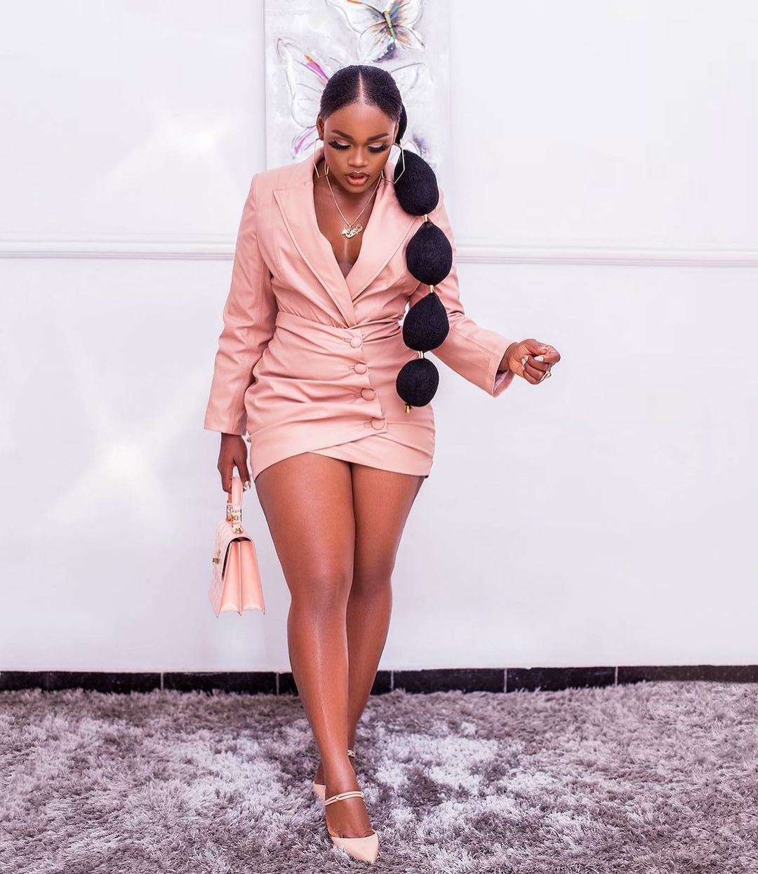 Cynthia Nwadiora Micro Blazer Is Sure To Stand Out
