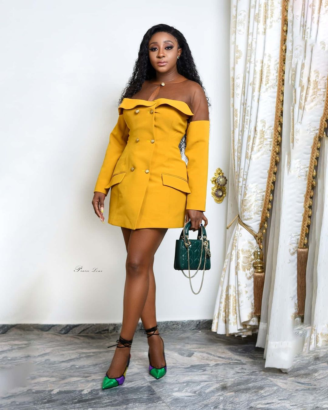 Ini Edo Sets A Personal Style Trend With Blazer