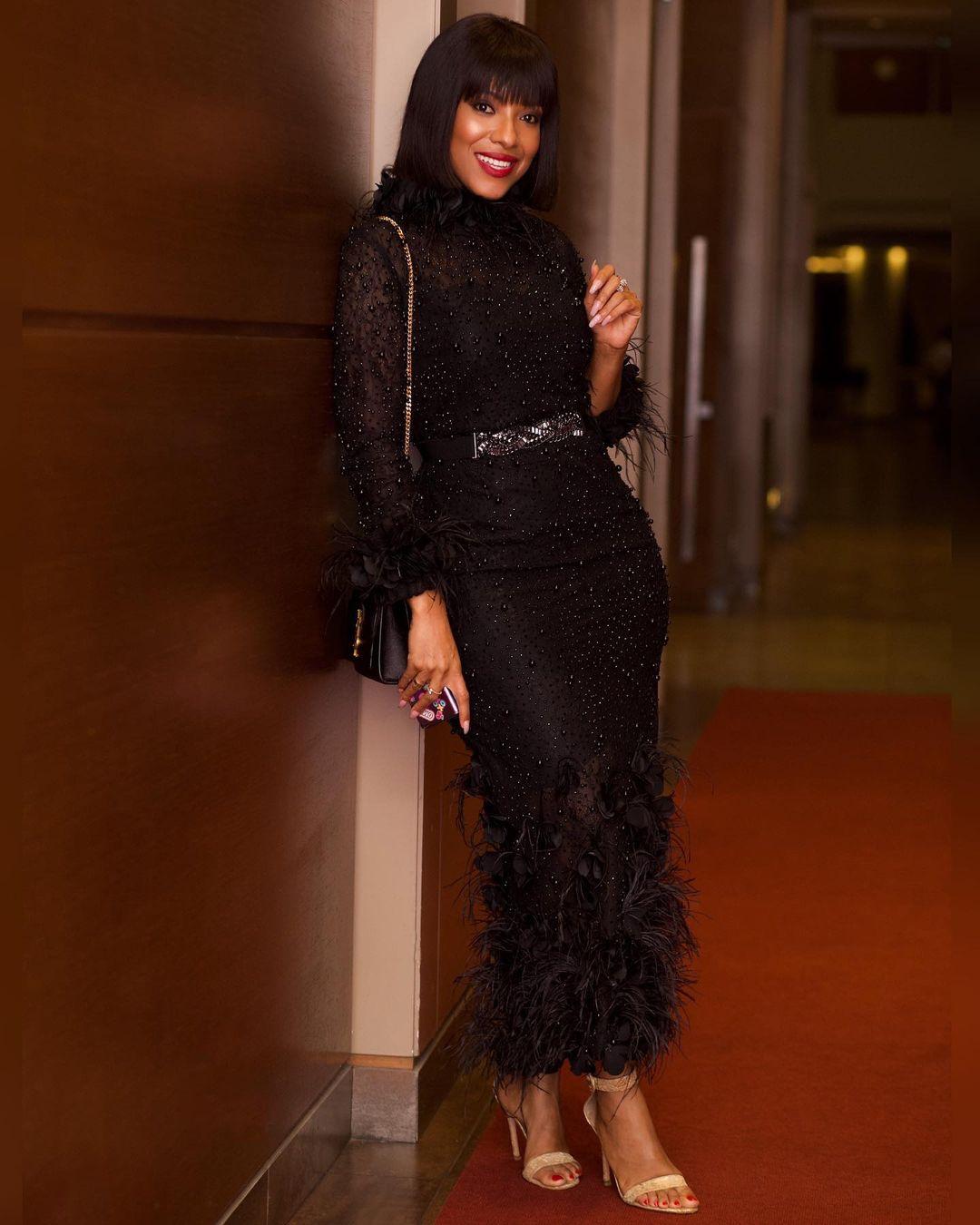 Joselyn Dumas Sets An Enviable Style Trend In Black