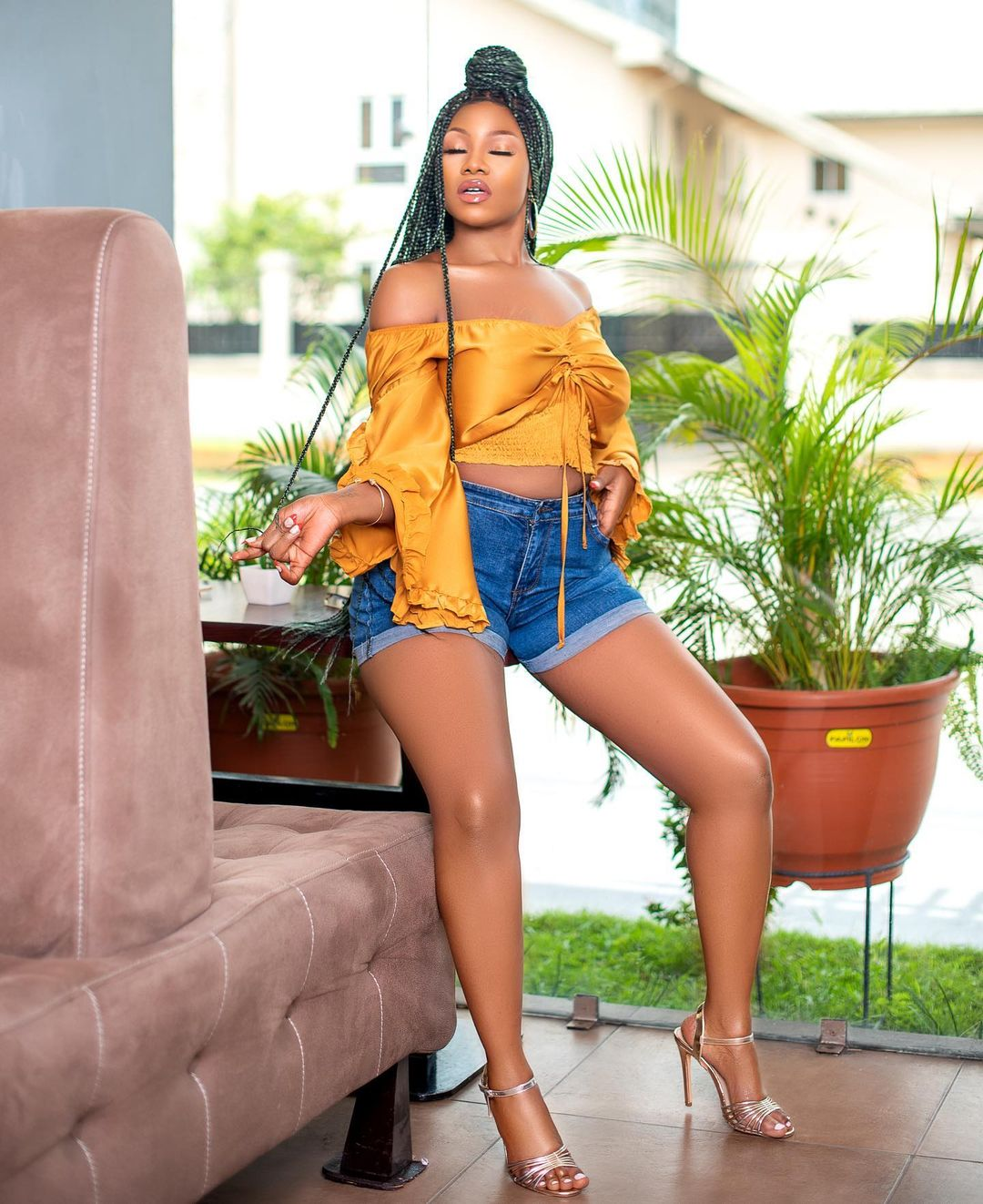 Symply Tacha Keep It Casual With Denim