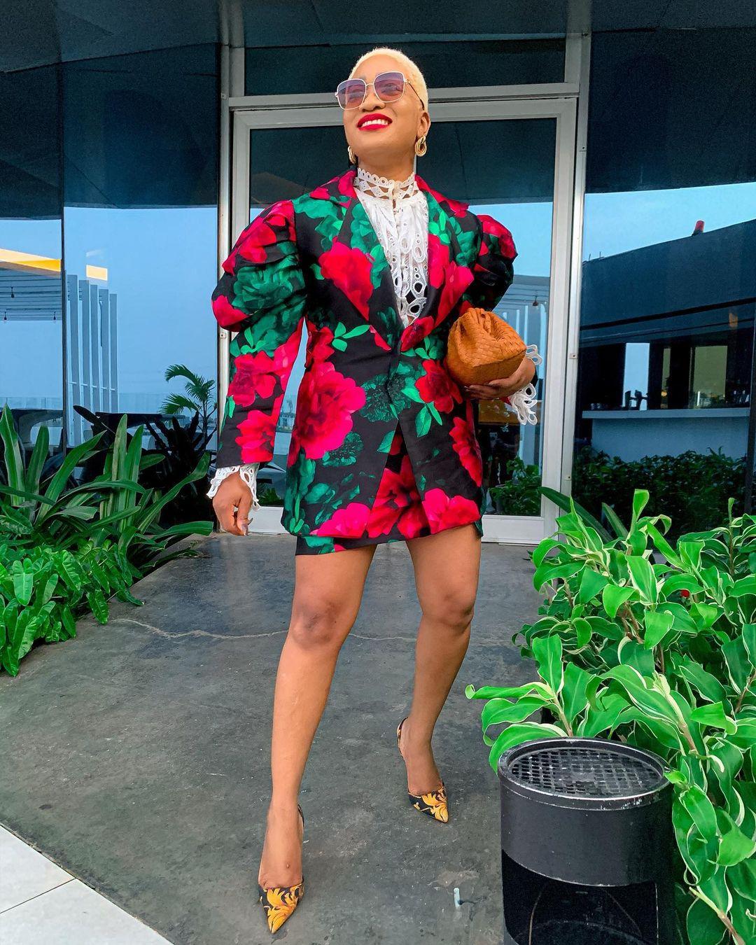 Jennifer Oseh Oversized Blazer Dress Makes A Great Business Wear