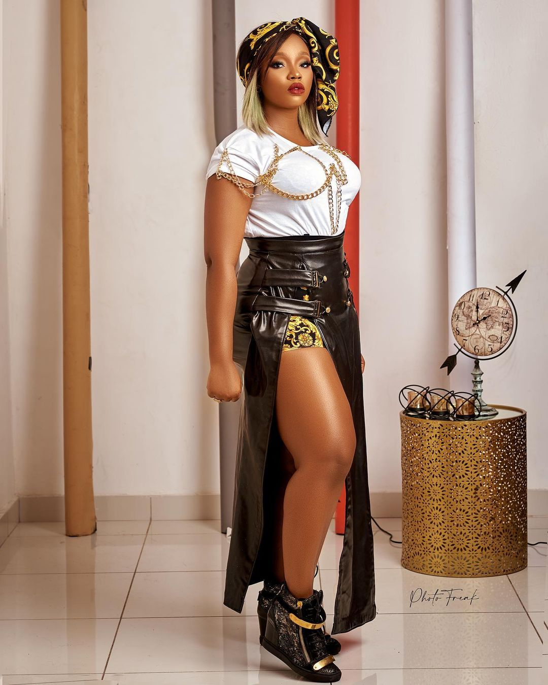 Bamike Adenibuyan Combination Of Sass And Street Is Jaw Dropping