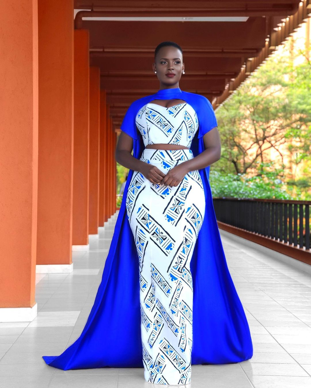 Bettinah Tianah Empire Gown Makes A Fashion Statement