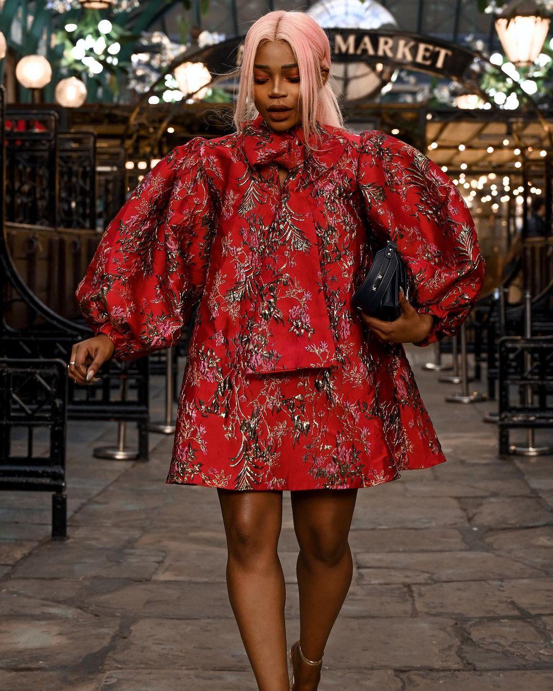 juliette Fox Slays In Boogie Dress