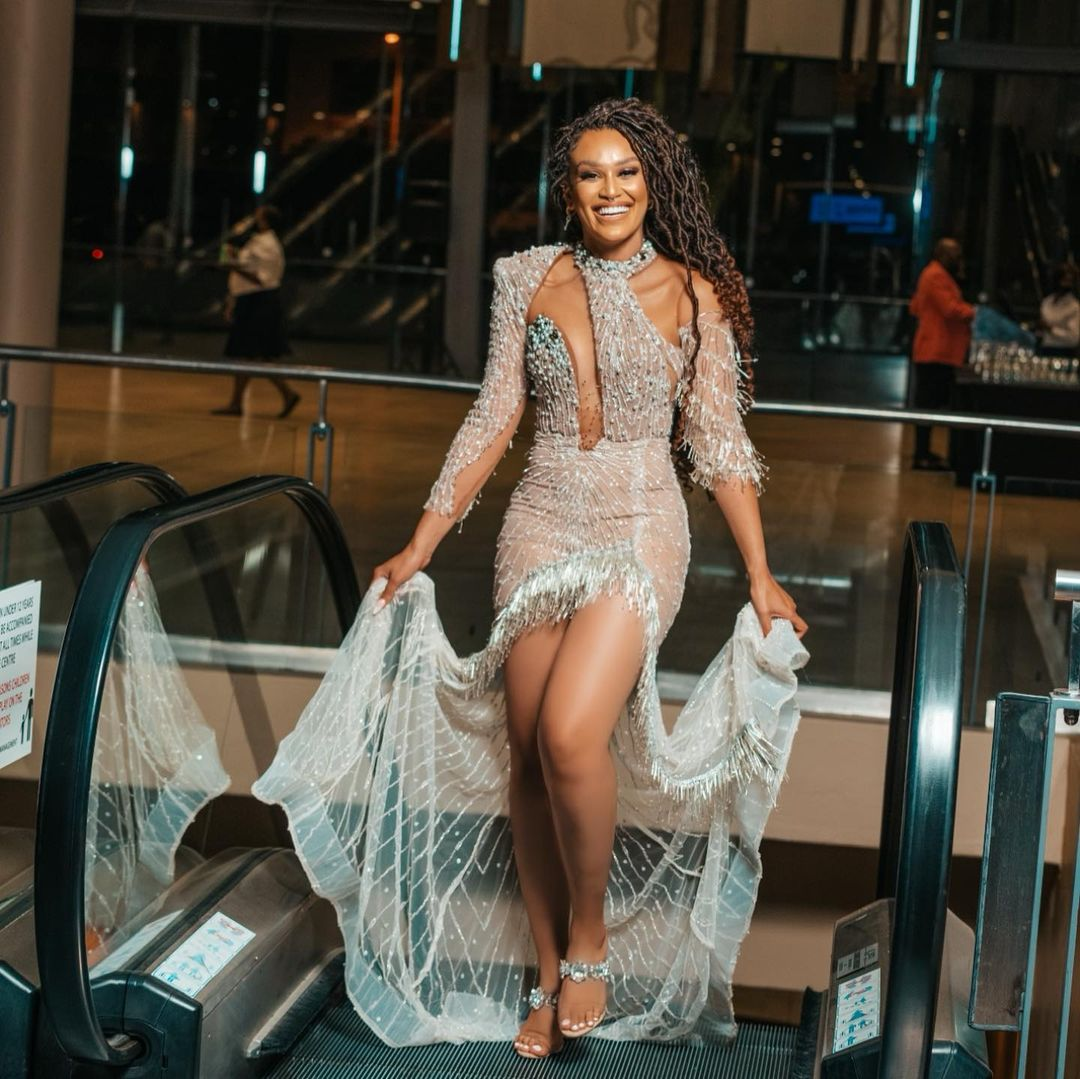 Pearl Thusi Displays All Sexiness In This Outfit