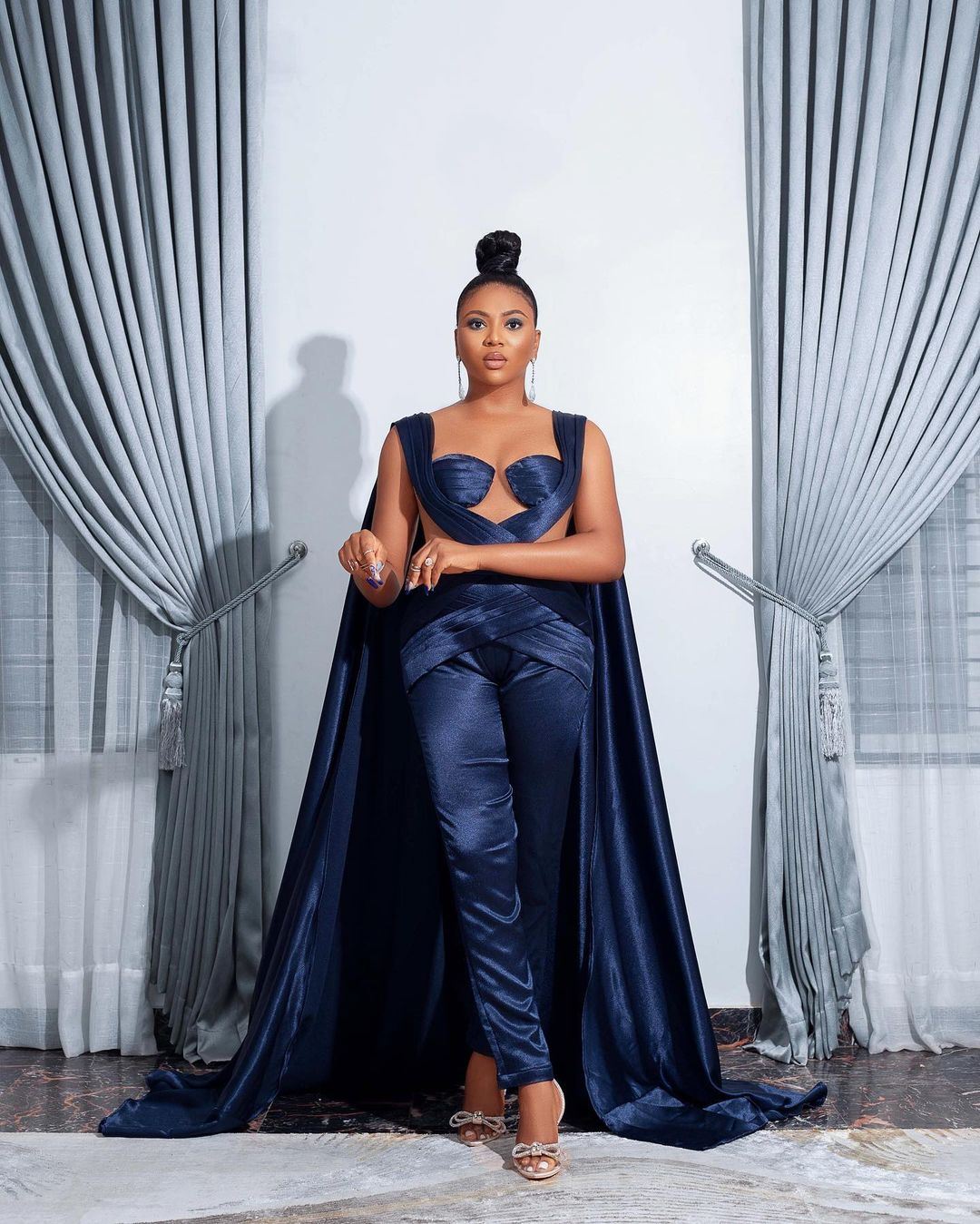 Stephanie Coker All Black Gives The Perfect Style Inspiration
