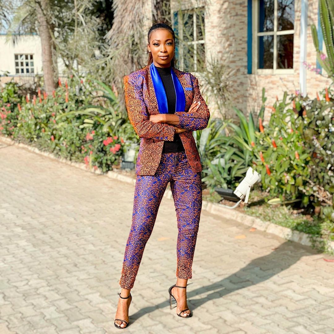 Bolanle Olukanni Looks Stunning In A Printed Suit
