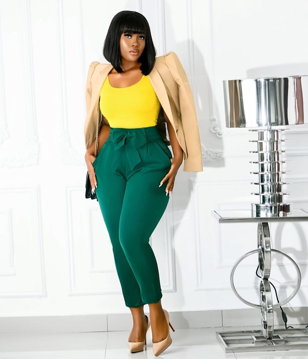 Cynthia Nwadiora Keeps It Perfect on Her Three Pieces