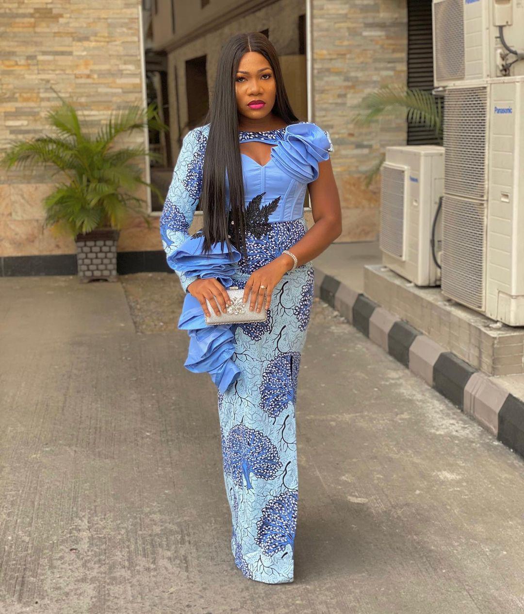 Owanbe Guest Looking Like An Angel