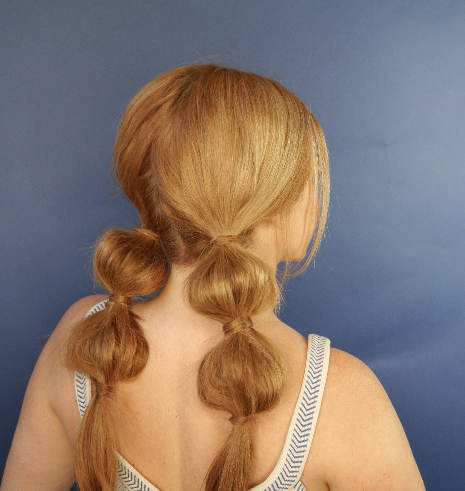 Blonde Bubble Braid