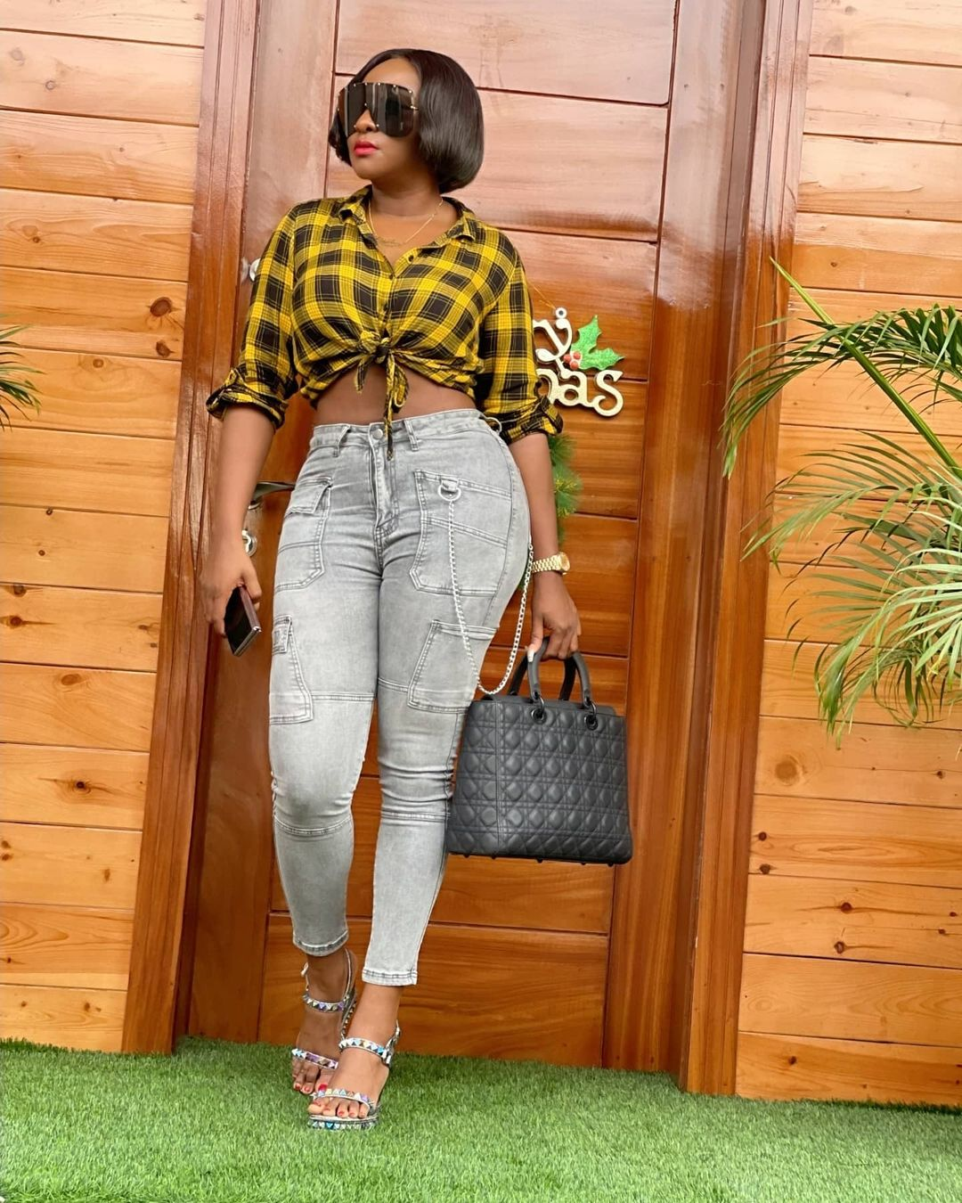 Ini Edo always keeping it real and simple