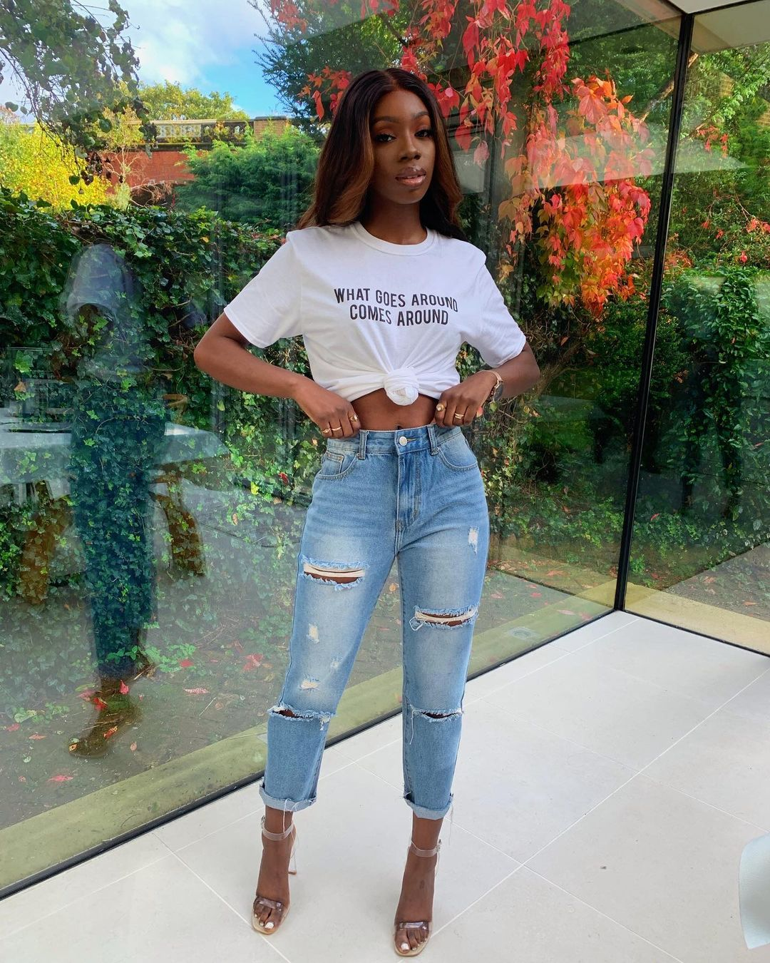 Yewande absolutely looking ready for the