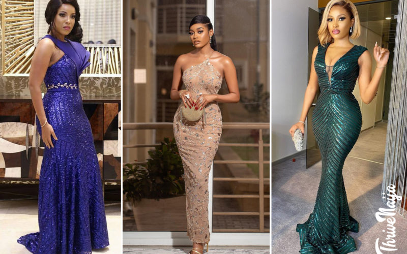 lace gown styles 2021