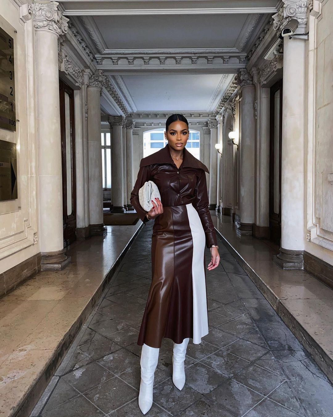 Olomi Didi Looking Peng In Classy Brown Shade
