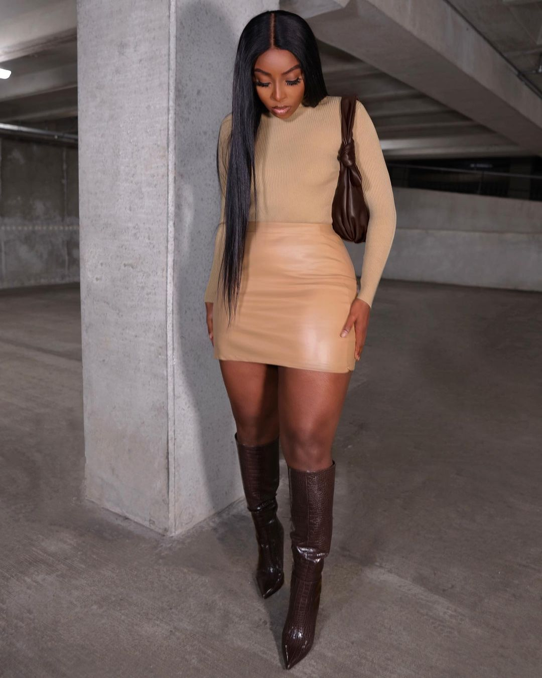 Tia Maria Nelson Radiant Look Makes A Fashion Statement